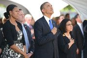 Michelle Obama Photo at Sen. Daniel Inouye's funeral Dec. 2012. She is so UnAmerican....worst 1st Lady in History...