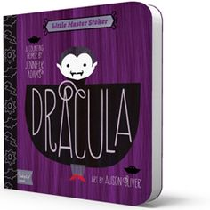 It's Dracula for babies. Obviously I need this.