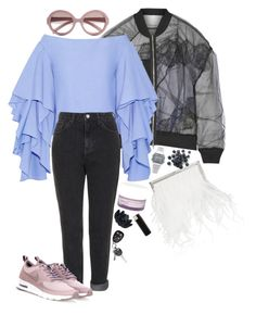 """typical cool"" by polysmolenskaya ❤ liked on Polyvore featuring Jimmy Choo, 3.1 Phillip Lim, Rosie Assoulin, Topshop, Korres, Prada, Casio, NIKE and Sia"