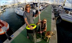 Brain wave: the surfers who made a trashcan for the ocean | Guardian Sustainable Business | The Guardian - http://www.theguardian.com/sustainable-business/2016/mar/30/seabin-ocean-pollution-epa-marina-miami-garbage