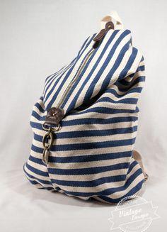 Kup mój przedmiot na #vintedpl http://www.vinted.pl/damskie-torby/plecaki/14314322-plecak-zara-w-paski-marynarski-zeglarski-styl