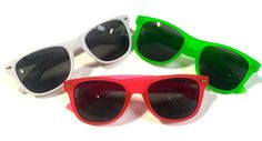 Check out the new Electro Sunglasses! Available in white, pink, and green. Ray-ban style sunglasses with the Electro Threads logo on the sides!