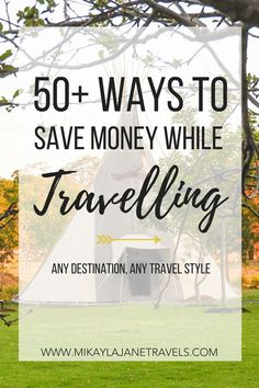 50+ Ways To Save Money While Travelling. These budget travel hacks will have you travelling longer, lighter and happier. Travel tips to save money on accommodation, flights, food and transport. Money saving travel tips to turn that dream destination into a reality. #budgettravel #traveltips #savemoneyontravel #budgetdestinations #travelhacks #saveontravel   www.mikaylajanetravels.com