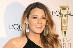Shiny Ombre hairlook from cute Blake lively!