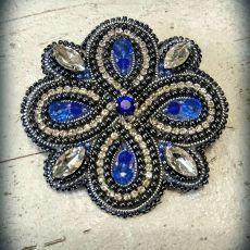 Embroidery Bracelets, Bead Embroidery Jewelry, Beaded Embroidery, Embroidery Designs, Bead Jewellery, Beaded Jewelry, Beaded Bracelets, Brooches Handmade, Handmade Jewelry