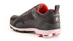 On Cloudrunner Stormblack / Mauve shoe