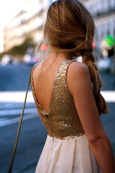 v back.... sparkle! Just like my Homecoming dress:)