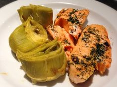 salmon filet & artichoke hearts, metabolic balance, diet