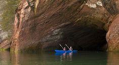 Kayak, St. Martins, New Brunswick