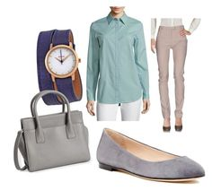 """""""1.2"""" by fireflowfor on Polyvore featuring Maison Margiela, Lafayette 148 New York, Sergio Rossi, Nixon and Aéropostale"""