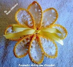 Tecendo Artes em Crochet: Sachês