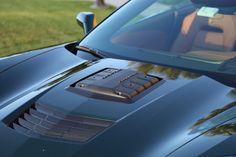 Callaway Corvette Hood with Gen 3 supercharger