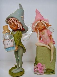 Enaidsworld: Fairy Puppets & Muizen by Imayara Pascual