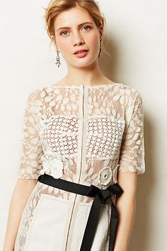 Carissima Sheath - anthropologie.com // As worn by Annabelle on Hart of Dixie
