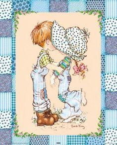 Immagini Sara Kay e Holly Hobbie Sarah Key, Holly Hobbie, Sara Key Imagenes, Vintage Pictures, Cute Pictures, Australian Artists, Digi Stamps, Illustrations, Cute Illustration