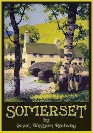 Dawlish scènes balnéaire imprimé Poster A4 A3 A2 A1