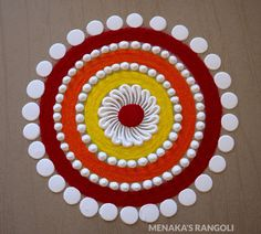 50 Chaitra Purnima Rangoli Design (ideas) that you can make yourself or get it made during any occasion on the living room or courtyard floors. Rangoli Designs Simple Diwali, Beautiful Rangoli Designs, Free Hand Rangoli Design, Small Rangoli Design, Colorful Rangoli Designs, Rangoli Ideas, Kolam Designs, Easy Rangoli, Indian Rangoli