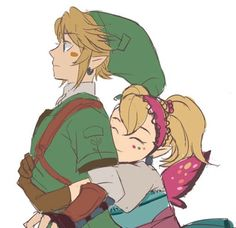 Aww, Link and Agitha - The Legend of Zelda: Twilight Princess Love Me Better, Zelda Twilight Princess, Hyrule Warriors, Wind Waker, Character Profile, Metroid, Breath Of The Wild, Best Series, Friendship