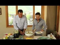 Chef Fabio Viviani and @David Venable QVC come together to show you have to create an Italian-American pasta salad. Plus, get tips on how to perfectly cook your pasta.