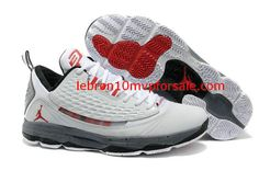 498a608c209 Jordan CP3 VI AE X White Gym Red Cement Grey Black 580580 101 Jordan Shoes  For