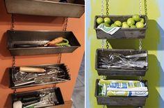 Repurpose - Recycle - Reuse Old Bread Pans