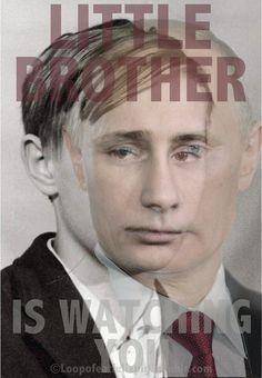 Putin - from envy to power. Aus Neid zur Macht.