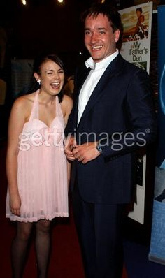 LONDON - JUNE 22: Matthew MacFadyen and Emily Barclay arrive at the UK Premiere of 'In My Father's Den' at the UGC Haymarket on June 22, 2005 in London, England. (Photo by David Westing/Getty Images)