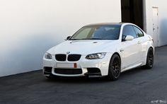 Alpine White BMW E92 M3 - APEX ARC-8 Wheels 01   by european auto source