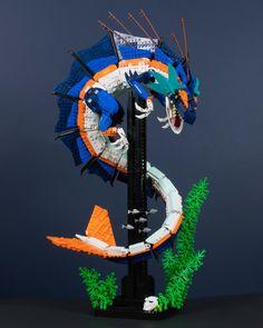 Aquasaurus, my entry into the Lego Ideas Dino contest. Was planning on tweaking and polishing this up a bit post-contest but I got a bit… Lego Mecha, Lego Bionicle, Lego Batman, Lego Robot, Lego Ninjago, Lego Design, Lego Minecraft, Lego Technic, Legos