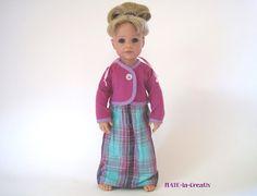 """3 teilg. Set """" Hannah """" Kleid+Kurz-Jacke+Panty von © MABE la Creativ - KIDS auf DaWanda.com"""