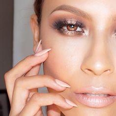 Gorgeous J-Lo makeup look
