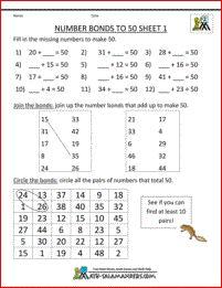 2 Worksheets Finding Number Pairs Part 2 2 math fact sheets number bonds to 100 1 √ Worksheets Finding Number Pairs Part 2 2 . 2 Worksheets Finding Number Pairs Part 2 2 . Free Printable Math Worksheets Number Bonds to 50 2 in Number Bonds To 100, Number Bonds Worksheets, Mental Maths Worksheets, Punctuation Worksheets, Number Worksheets Kindergarten, Free Printable Math Worksheets, 1st Grade Worksheets, Worksheets For Kids, In Kindergarten