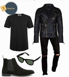 5 Men's #Leather #Jacket Outfits 2016; The Easiest Way To Attract a Girl (All Budgets)