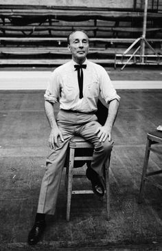George Balanchine, shown here in 1965, was born in St. Petersburg, Russia, but moved to New York when he was 29.