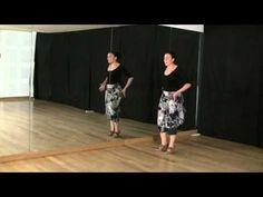 Técnica de baile flamenco: nivel básico: Carretilla - YouTube