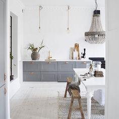 Altså , dette kjøkkenet! // Dagens inspo @stylingbydenice - Ha en strålende onsdag !! /A
