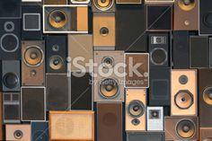 music column textured Royalty Free Stock Photo