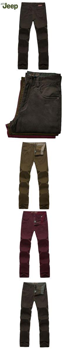 2016 new fashion men's casual pants waist cotton Battlefield Jeep men's products 119