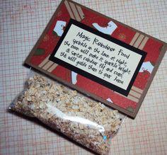 Magic Reindeer Food by bowpeepcreations on Etsy, $3.25