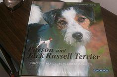 Unser Buch.... Parson- und Jack Russell Terrier - große Hunde in kleinem Körper von Christiane Jantz - mit unserer Brenda als Covergirl - erschienen im Cadmos Verlag