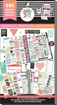 Value Pack Stickers - Productivity