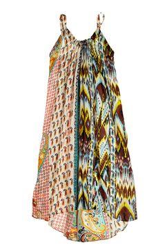 Arnande Printed Silk Dress | Calypso St. Barth