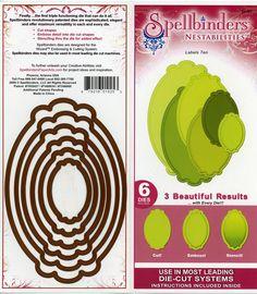 Spellbinders Nestabilities   Labels 10