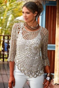 15 Spring & Summer Fashion Trends for Women 2017  - Do you want to add new pieces to your wardrobe for the upcoming seasons? Do you want to discover more about the latest fashion trends that are present... -  crochet-outfit-ideas-3 .