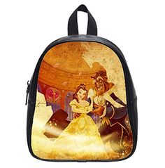 Wholesale Beauty and the Beast Custom Kids School Backpac...