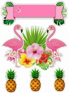 - Her Crochet Flamenco Party, Flamingo Craft, Diy And Crafts, Paper Crafts, Flamingo Birthday, Tropical Party, Luau Party, Pink Flamingos, Birthday Parties