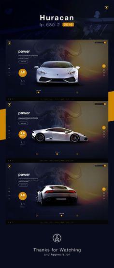查看《Automobili Lamborghini S.p.A. -- Web design》原图,原图尺寸:1920x4500