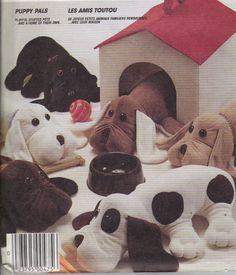 Pound Puppies Pattern