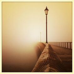 Northumberland | Amble Pier in the fog |