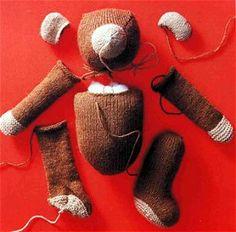 Stricken - Teddy-Grundanleitung